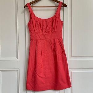 J crew coral dress